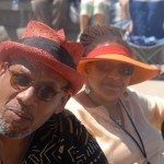 Suzan & Willard Jenkins at the DC Jazz Festival