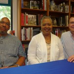 Book signing at Politics & Prose Books in DC for the book Ain't Nothing Like the Real Thing (2010 Smithsonian Books with editor Kinshasha Holman Conwill and fellow contributor John Edward Hasse)