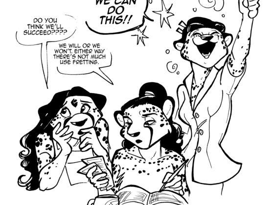 Artist manager cartoon 2