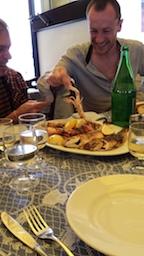 Bari fish plate
