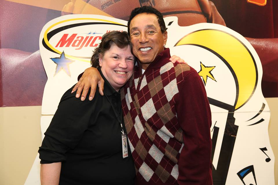 Janet Macoska and Smokey Robinson